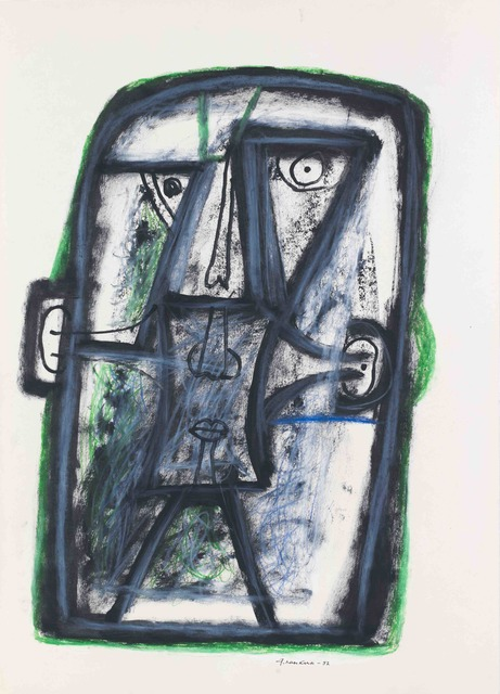 ", '""A head"" 2,' 1997, Krokin Gallery"