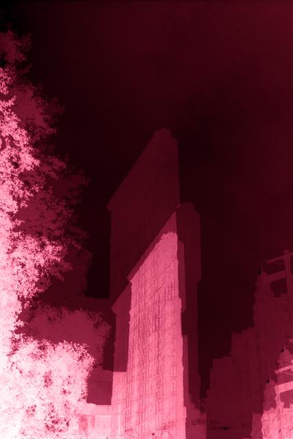 Erik Steffensen, 'Red Flatiron Building ', 2015, Galleri Bo Bjerggaard
