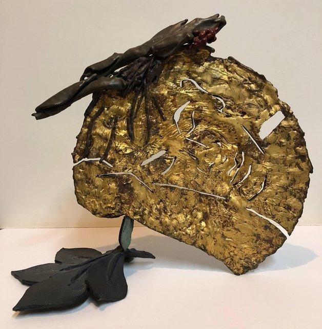 Robert Kushner, 'Polychrome Bronze Organic Sculpture Polich Tallix Art Foundry Sleeping Beauty', 1980-1989, Lions Gallery