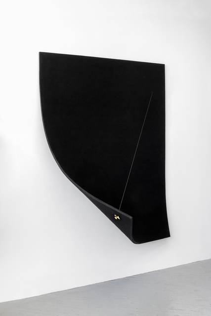 , 'Work On Felt (Variation 9) Black,' 2016, Spinello Projects
