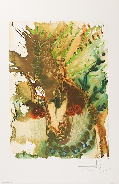 Salvador Dalí, 'Bucéphale', 1983, Art Lithographies