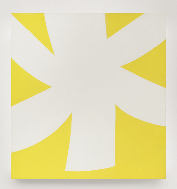 , 'White Yellow,' 1957-1958, Matthew Marks Gallery