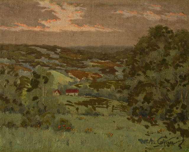 William Anderson Coffin, 'Sunset, Somerset County, Pennsylvania', 1924, Private Collection, NY