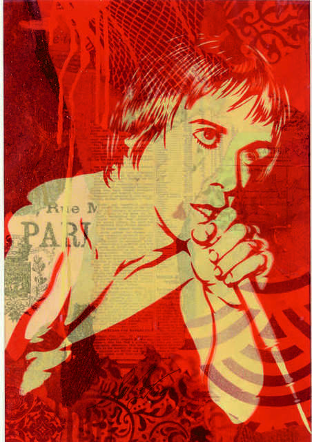 Shepard Fairey, 'Iggy pop', 2010, DIGARD AUCTION