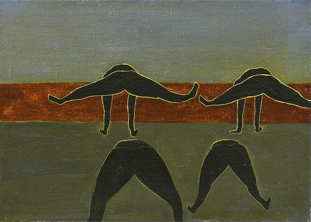 Rosa Loy, 'Turnen', 2020, Galerie Kleindienst