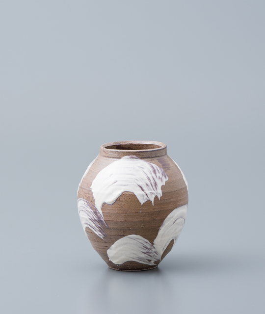 , 'Vase, yohen natural ash glaze with brushwork,' , Pucker Gallery