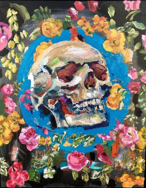 """, '""""Self Portrait"""",' 2017, White Porch Gallery"""