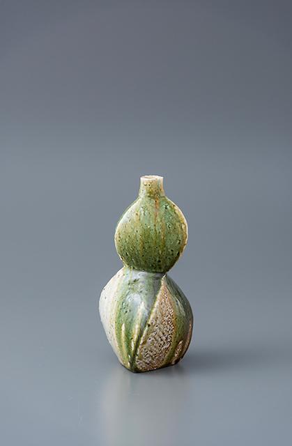 , 'Vase, yohen oribe glaze,' 2018, Pucker Gallery