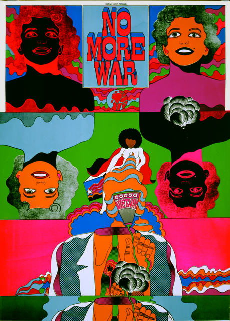 , 'No More War 5,' 1967, Nanzuka