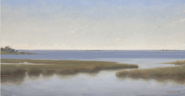 , 'Great South Bay from Fire Island,' 2016, Adelson Galleries