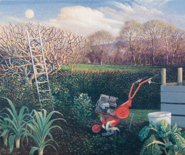 , 'The Ladder and the Moon, Spring Equinox,' , Jonathan Cooper