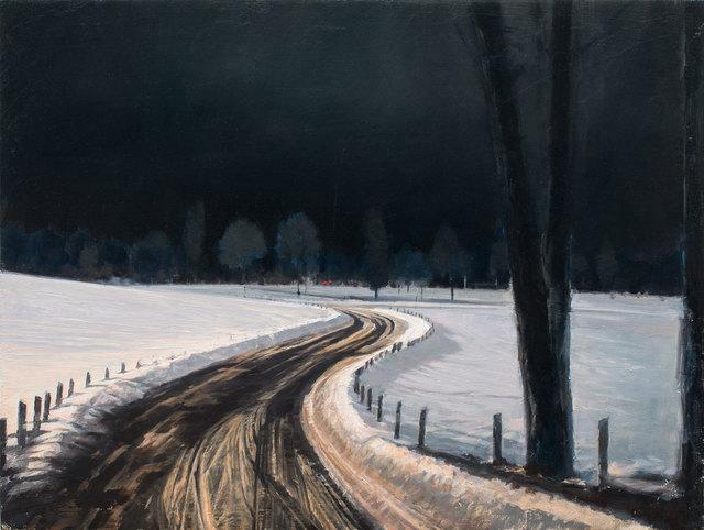 Nicola Nannini, 'Neve/Notte N.5', 2019, Galleria Punto Sull'Arte