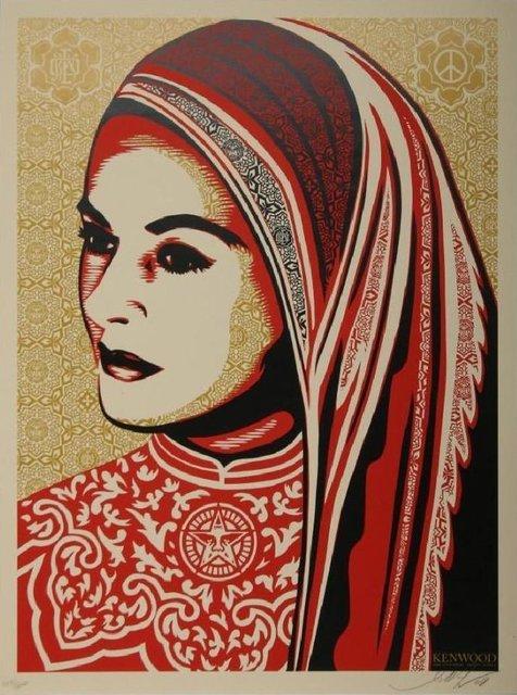 Shepard Fairey, 'Peace Women Kenwood Vineyards Edition', 2009, Art276