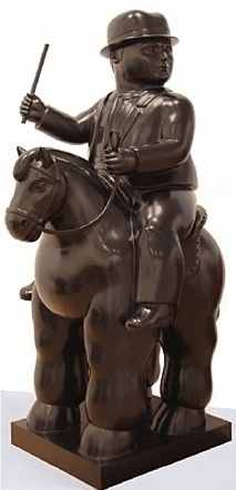 , 'Man on a Horse,' 2010, David Benrimon Fine Art