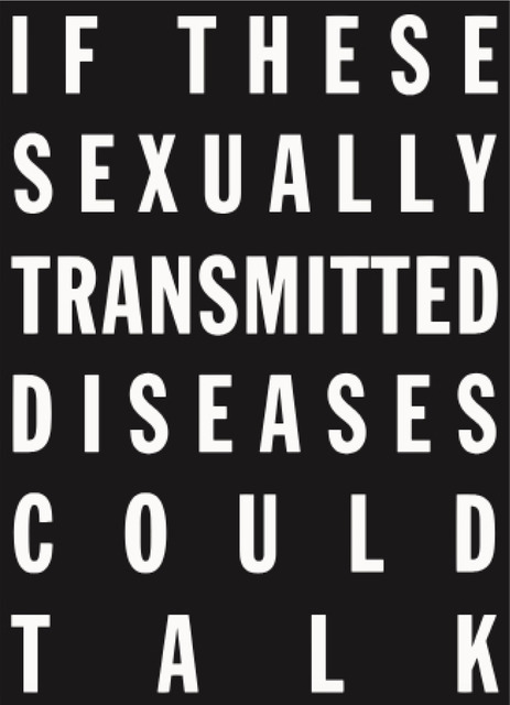 , 'If These Sexually Transmitted Diseases Could Talk ,' 2015, V1 Gallery