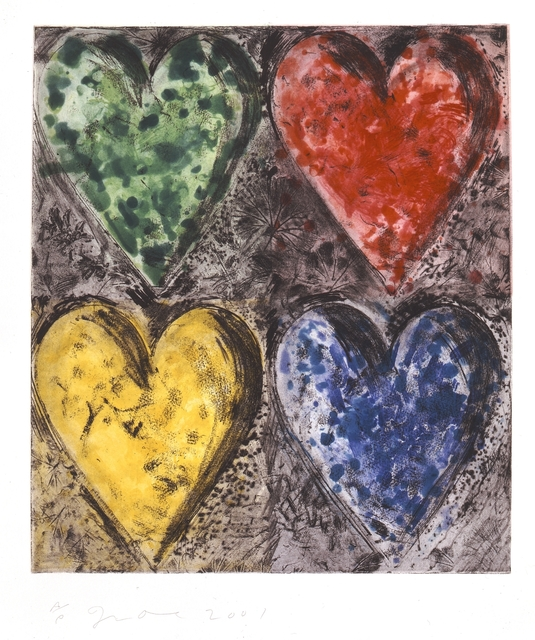 Jim Dine, 'Watercolor in the Galilee', 2001, Cristea Roberts Gallery