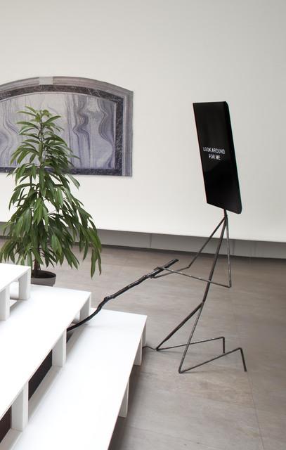 , 'The Parle Ment Mirror Stick Man (kneeling) ,' 2017, Galerie Nathalie Obadia