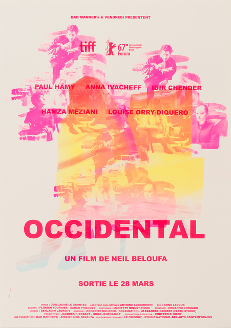, 'Occidental,' 2018, gdm