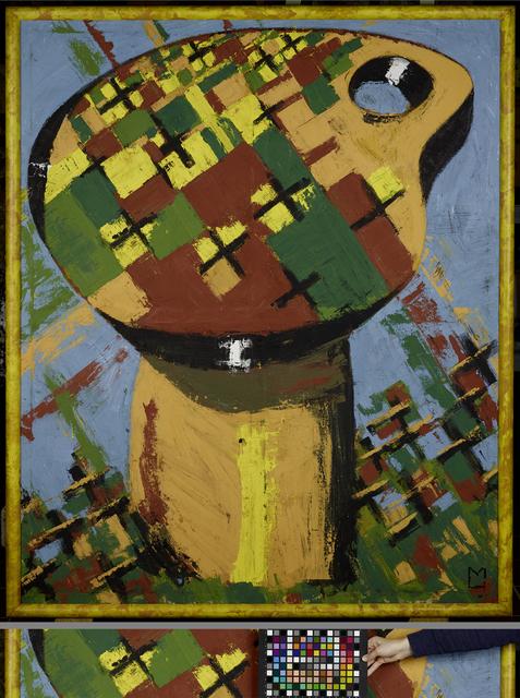 , 'Palette - dithyrambisch III,' 1973, Musée d'Art Moderne de la Ville de Paris