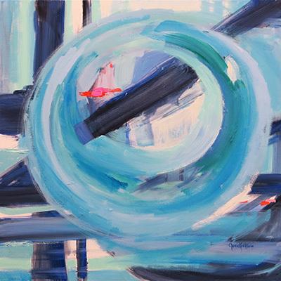 Dana Goodfellow, 'Infinity #2', 2018, Handwright Gallery