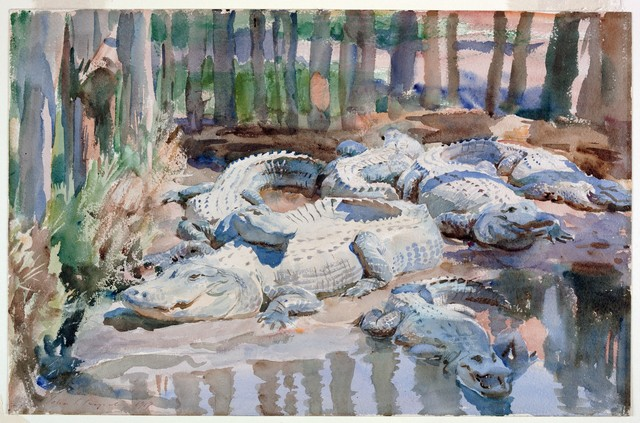 , 'Muddy Alligators,' 1917, Philadelphia Museum of Art