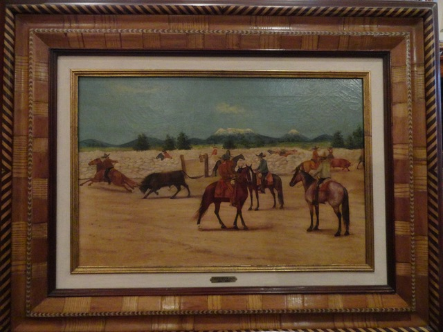 """, '""""Lazando a toro"""",' 1915, GALERÍAS A. CRISTOBAL"""