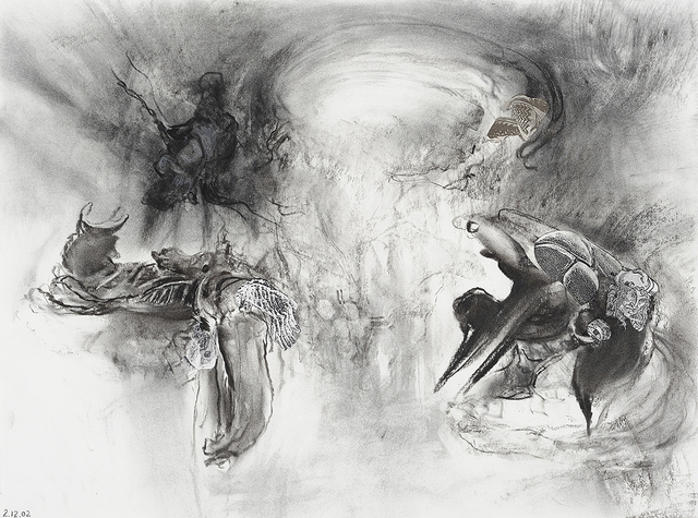 , 'Study for 'Always Beginning',' 2002, Charles Nodrum Gallery