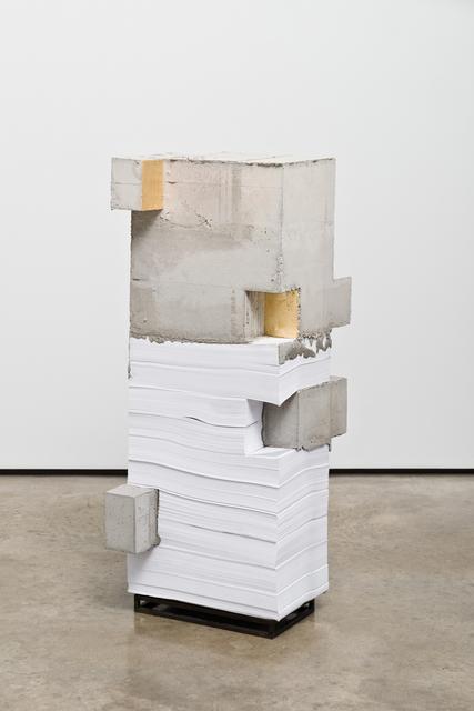 , 'White Lies 5,' 2017, Lora Reynolds Gallery