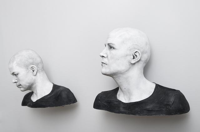 , 'Michael-4/ Roman Centurion texture, David-3 / Street Vendor2 texture,' 2015, Zilberman Gallery