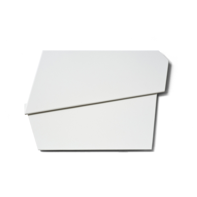 , 'White Folded Flat 02,' 2015, Häusler Contemporary