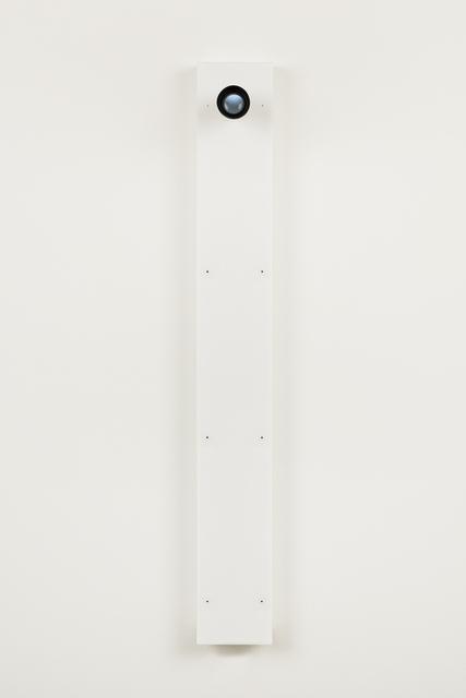 Gary Hill, 'Self (F)', 2016, Sculpture, Acrylic, six video cameras, electronics, optics, bitforms gallery