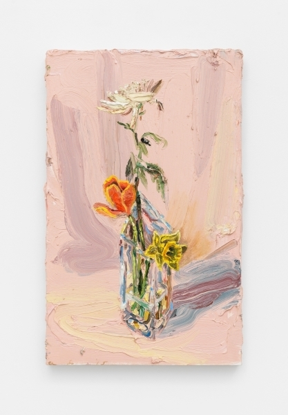 Allison Schulnik, 'Pink Flowers', 2016, Sean Horton (presents)