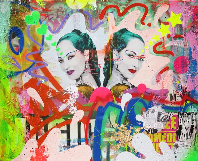 """Indie184, '""""Bathing In Moonlight""""', ca. 2018, Parlor Gallery"""