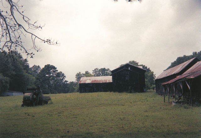 , 'Black Buildings, Newbern, Alabama,' 1994, Pace/MacGill Gallery