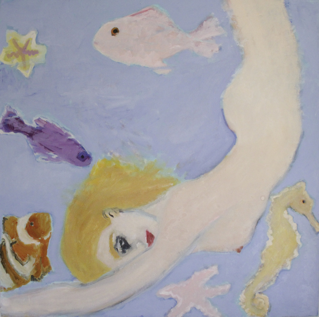, 'Woman Swiming,' 2013, The Lionheart Gallery