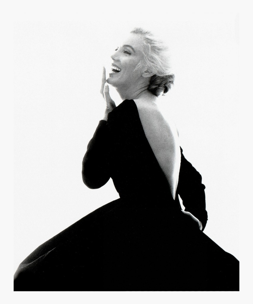 "Marilyn Monroe: From ""The Last Sitting"" (Black Dress, Laughing)"
