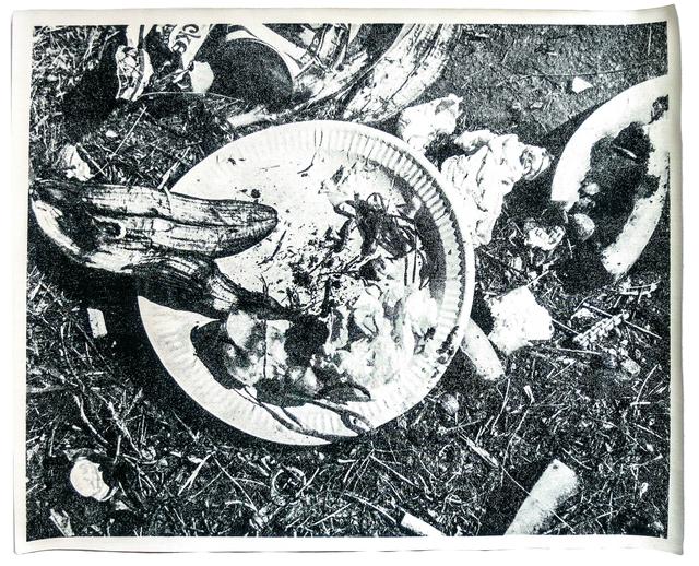Geoffrey Hendricks, 'Picnic Garbage Placemat', 1973, Alternate Projects