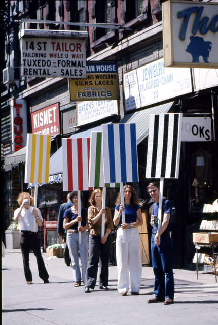 , 'Photo-souvenir : Seven ballets in Manhattan, travail in situ, New York, 27 mai/2 juin 1975. Détail.,' 1975, Centre for Fine Arts (BOZAR)