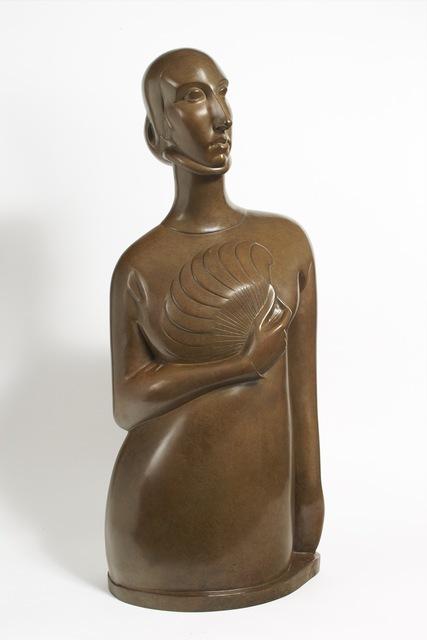 , 'Dame à l'éventail,' 1920, Galerie Marcilhac