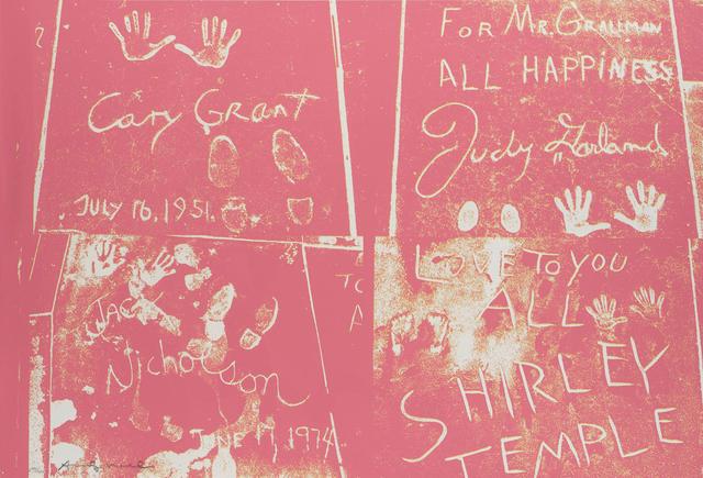 Andy Warhol, 'Sidewalk', 1983, Print, Screenprint on Dutch Etching paper, Zeit Contemporary Art