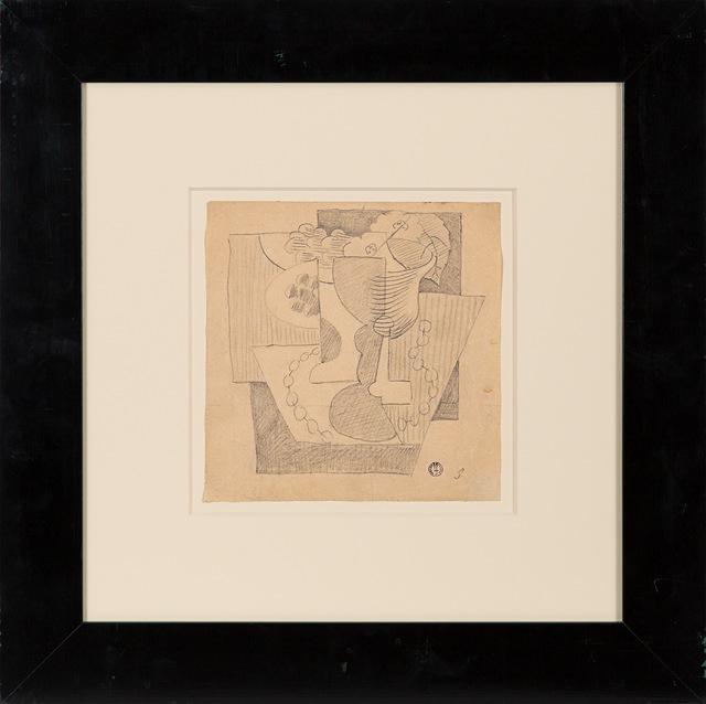Leopold Survage, 'Nature Morte au Compotier', ca. 1919, Rosenberg & Co.
