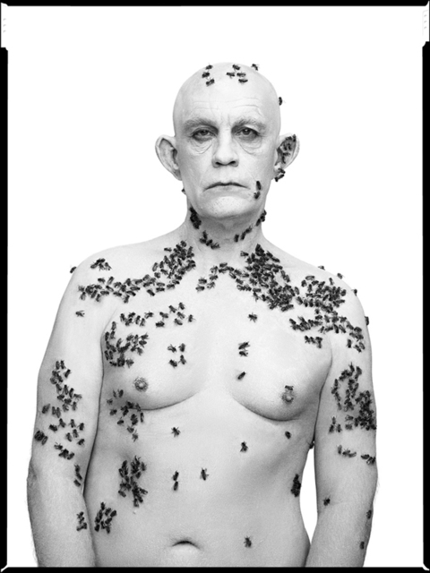 , 'Richard Avedon/Ronald Fischer, Beekeeper, Davis, California, May 9 (1981),' 2014, Cynthia Corbett Gallery