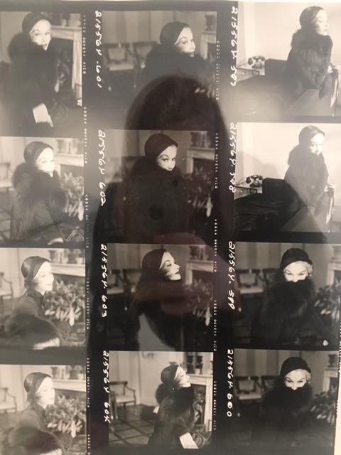 , 'Lisa Fonssagrives Contact Sheet,' , Isabella Garrucho Fine Art