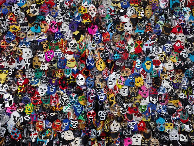 , 'Mexican Masks,' 2015, Danysz Gallery