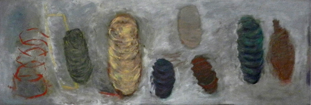 Carol Benson, 'Cocoon', 2014, Painting, Oil and Encaustic on Steel, William Campbell Contemporary Art Inc