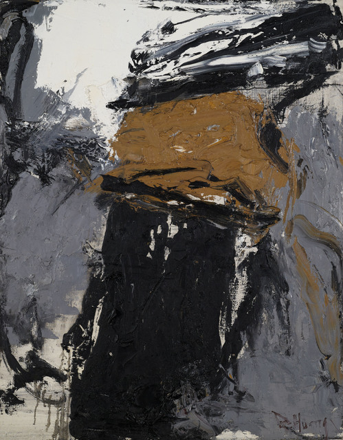 Huang Rui, 'White, Grey, Yellow, Black', 1989-1990, Boers-Li Gallery