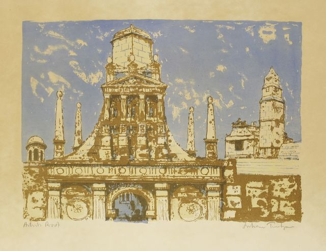 Julian Trevelyan, 'VILLA GAMBERAIA, CAIUS COLLEGE', 1959/62, Sworders