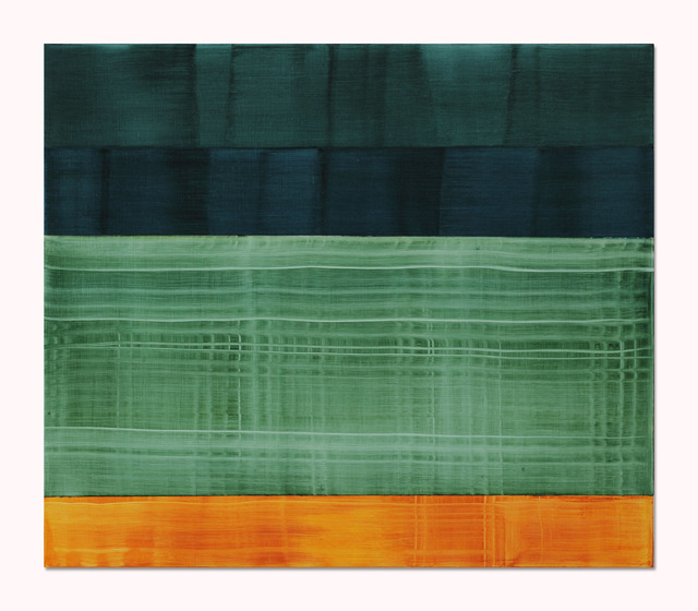 , 'Composition in Greens 5,' 2014, Sundaram Tagore Gallery