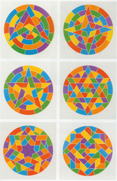 Tondo Stars, Set of Six