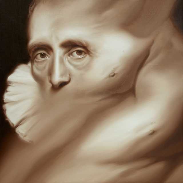 , 'Portrait of Cornelis van der Geest,' 2016, Parafin